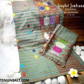 Kain Songket Bali Asli Negara