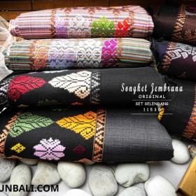 Tenun Songket Dan Selendang Bali