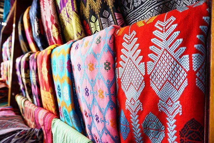 Kain Tenun Songket Dari Lombok