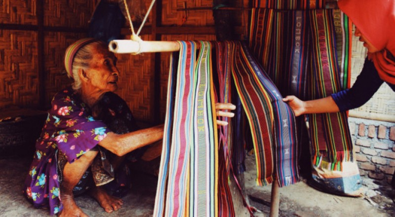 Kain Suku Sasak Lombok